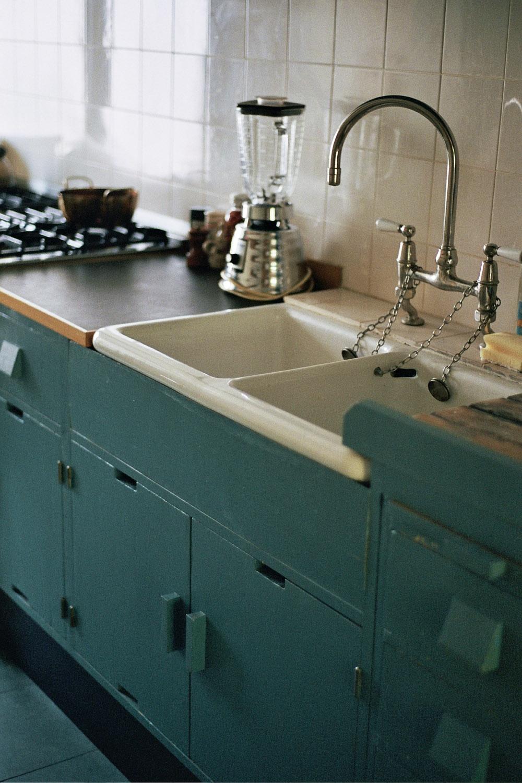 Linoleum Frankfurt living with a frankfurt kitchen 1934