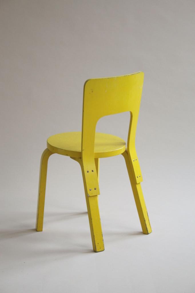 Chair 66 alvar aalto artek finland 1935 1934 for Chaise 66 alvar aalto