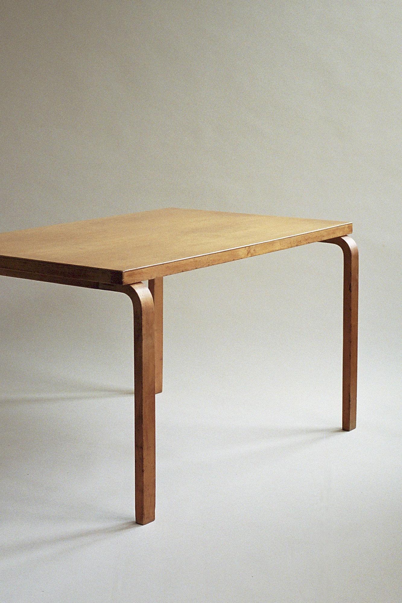 dining table alvar aalto finmar 1930s. Black Bedroom Furniture Sets. Home Design Ideas