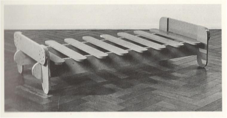 Stoel Gerrit Rietveld : Beugel stoel gerrit rietveld